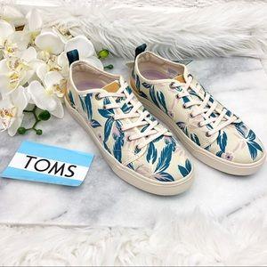 TOMS Trvl Lite Low Sneaker Lace Up Floral Print